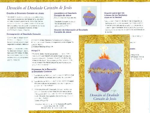 Prayer Card Spanish: \